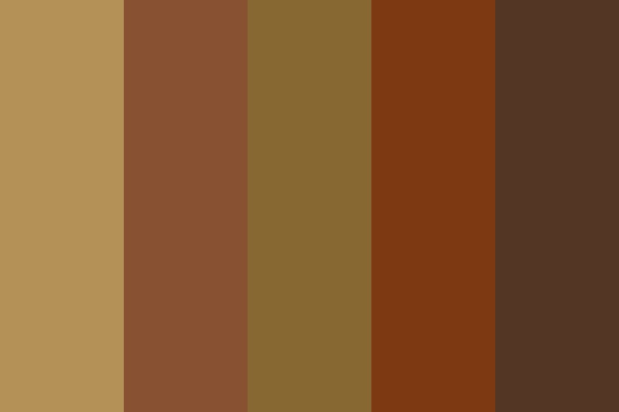 Coffee Shades Color Palette