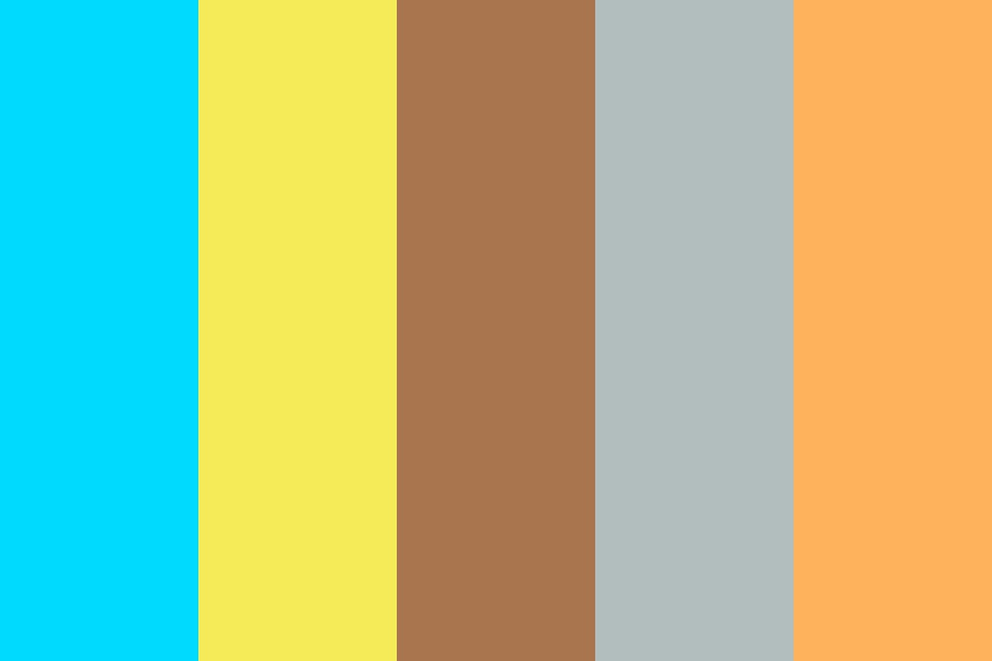 Coffee Shop Jo Color Palette