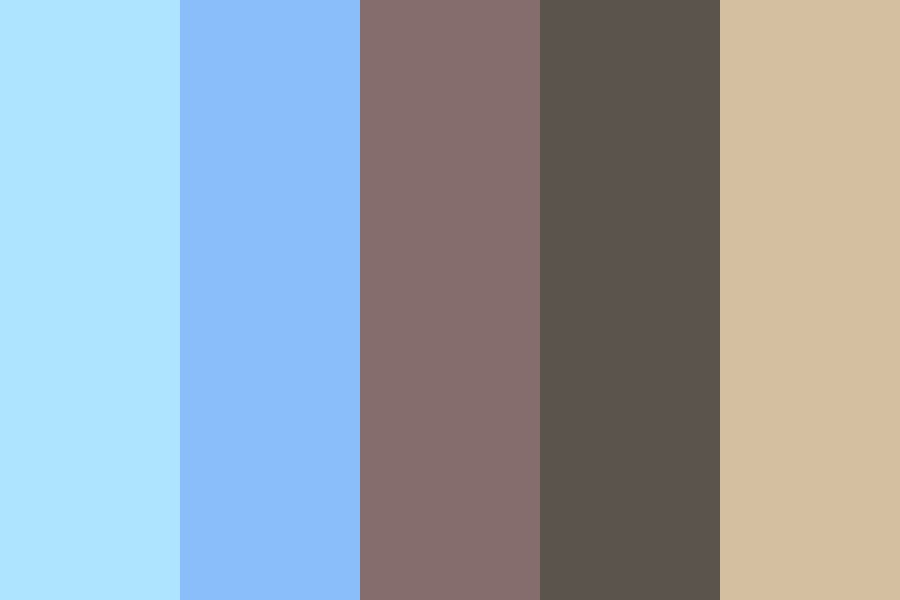 Coffee Stains Color Palette