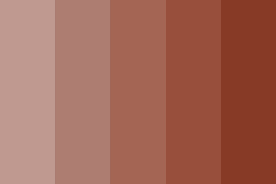 Coffee Swirls Color Palette