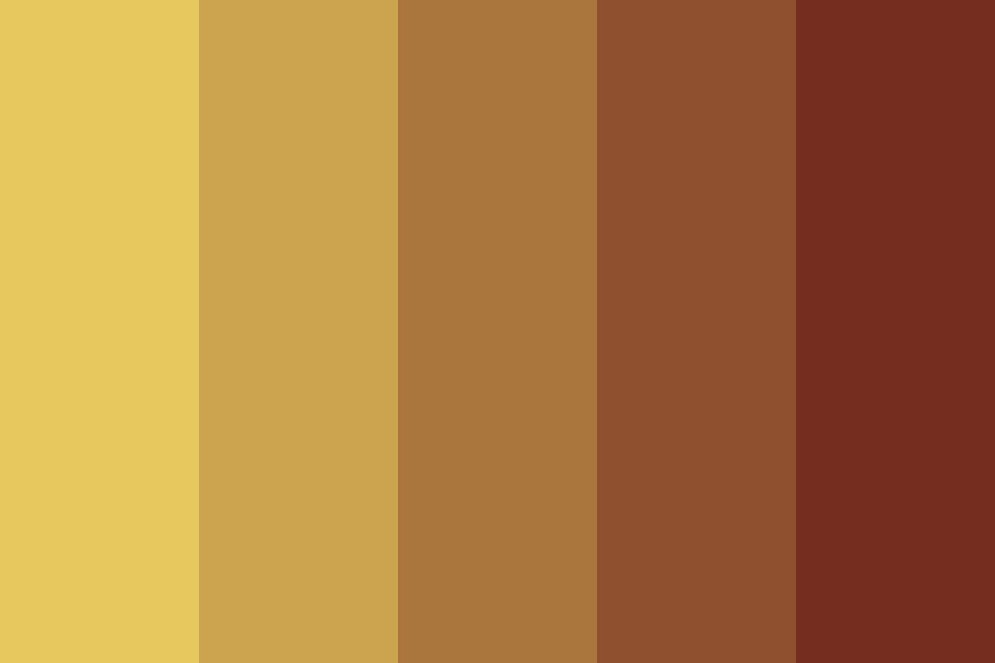 Coffee With Cream Color Palette