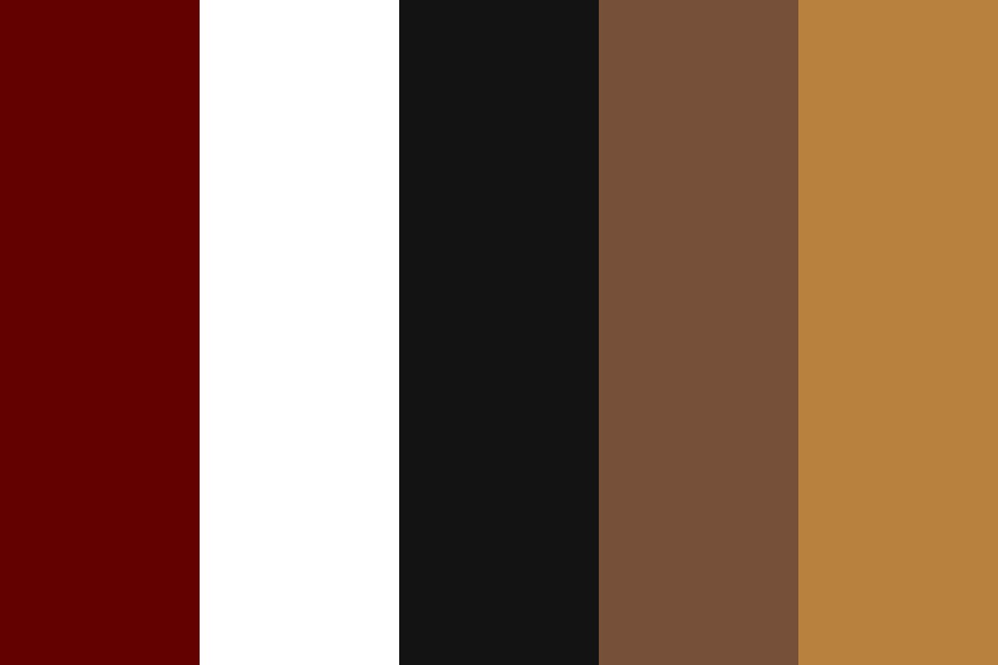 Coffee shop Color Palette