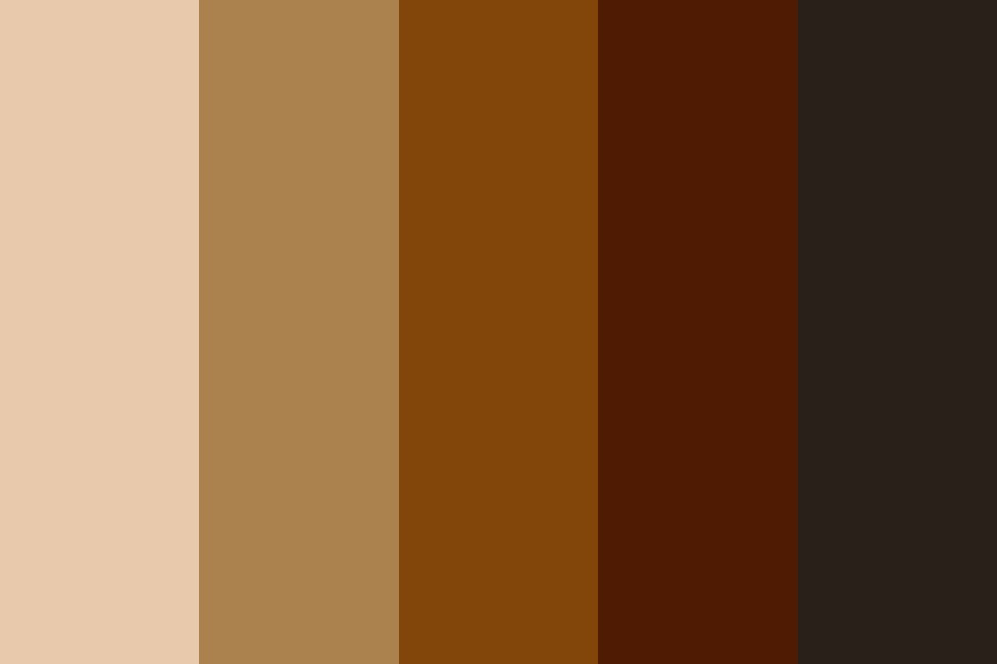 Coffeehouse Color Palette