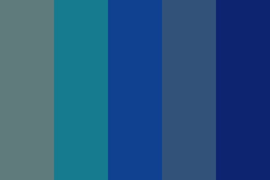 Cold And Dark Color Palette