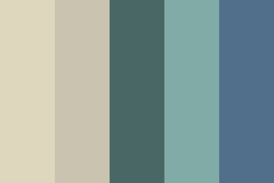 Cold Beach Color Palette