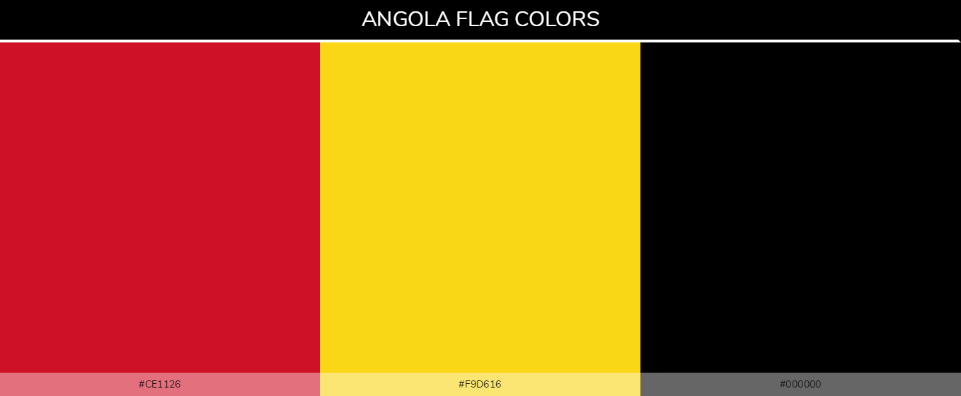 Color Palettes Of All Country Flags 005