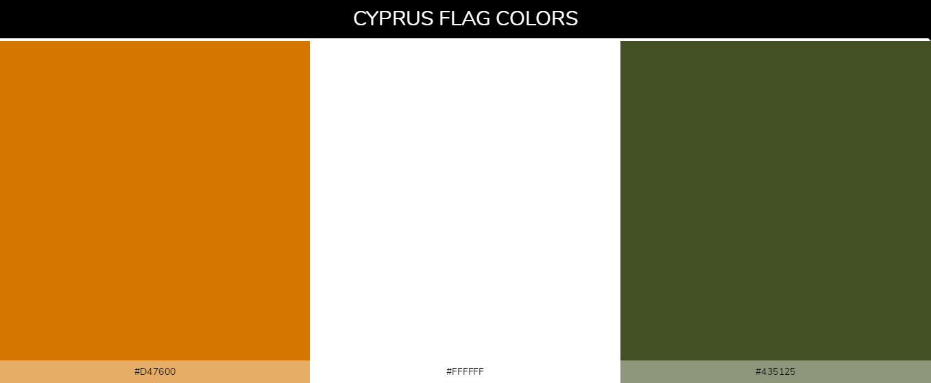 Color Palettes Of All Country Flags 032