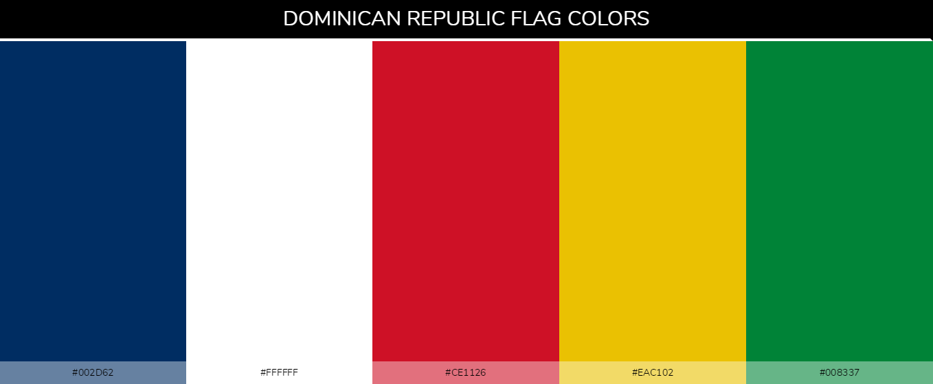 Color Palettes Of All Country Flags 036