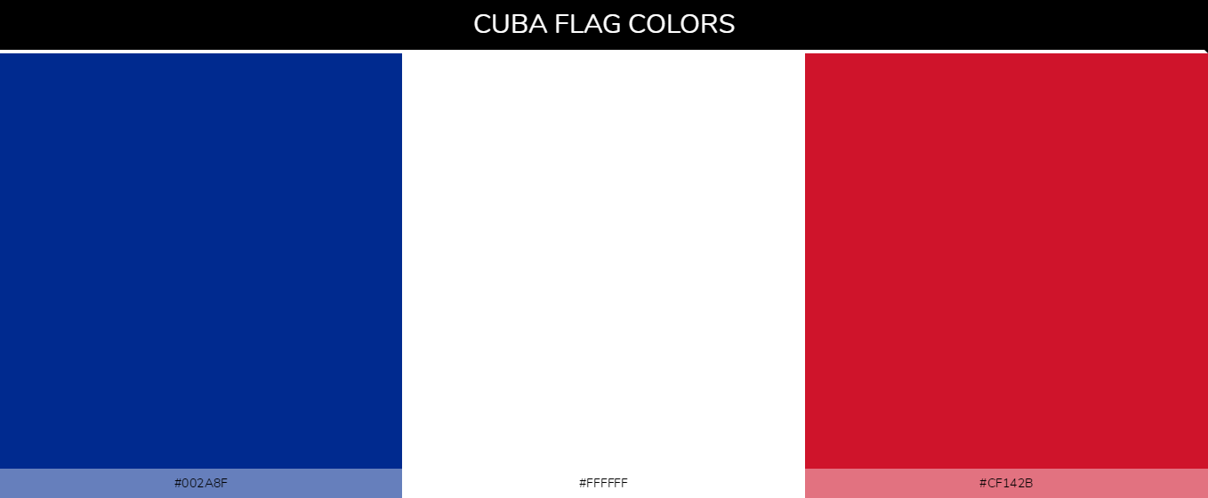 Color Palettes Of All Country Flags 037
