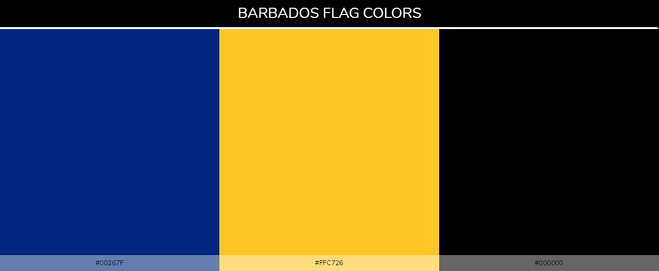 Color Palettes Of All Country Flags 040