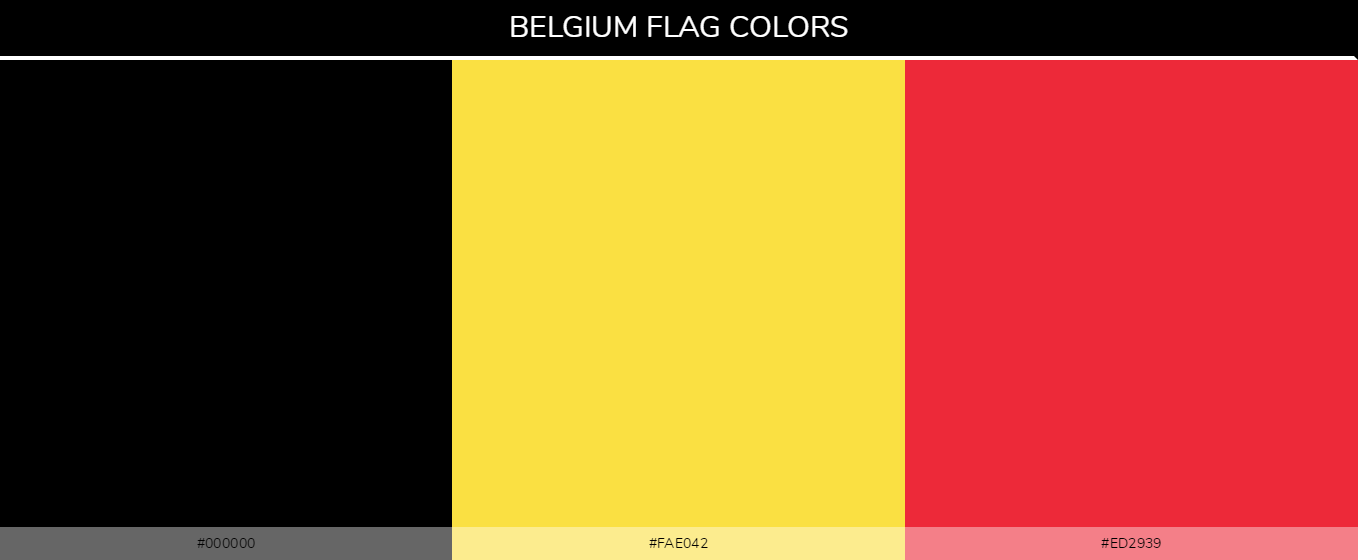 Color Palettes Of All Country Flags 046