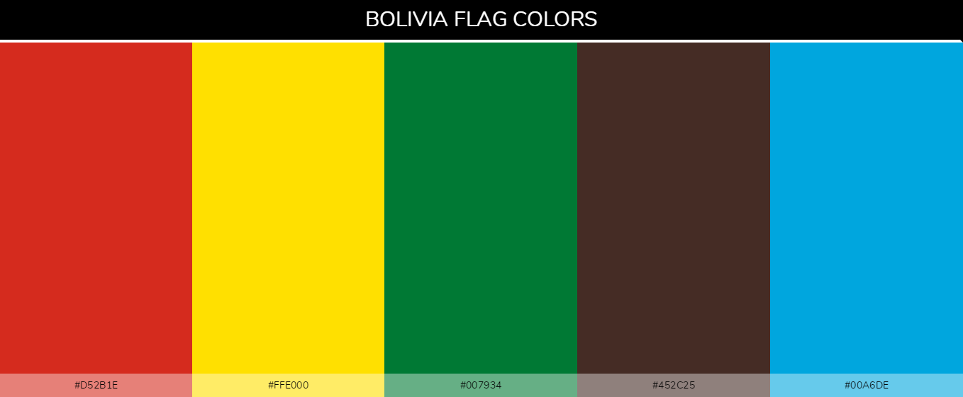 Color Palettes Of All Country Flags 047