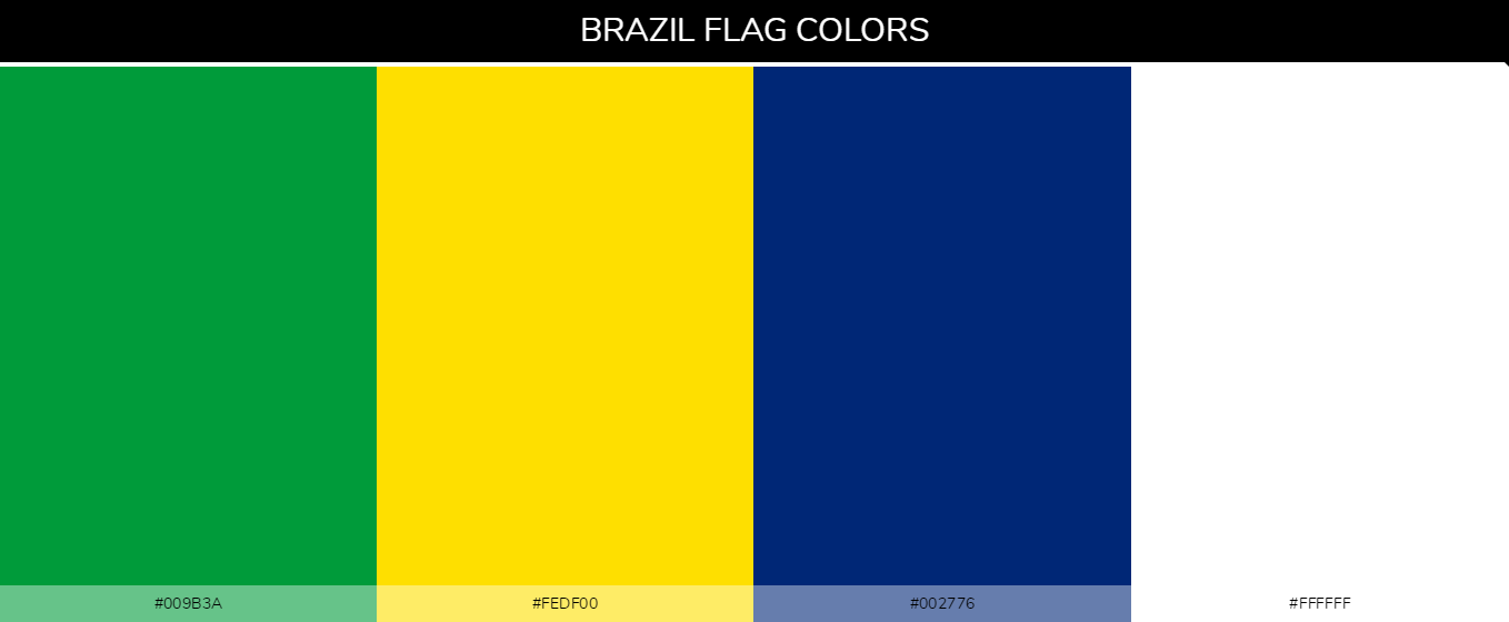 Color Palettes Of All Country Flags 050