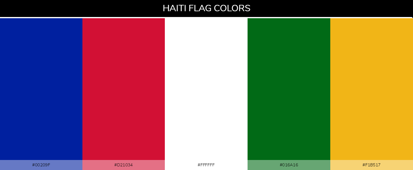 Color Palettes Of All Country Flags 057