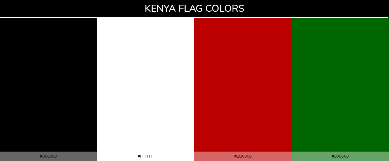 Color Palettes Of All Country Flags 060