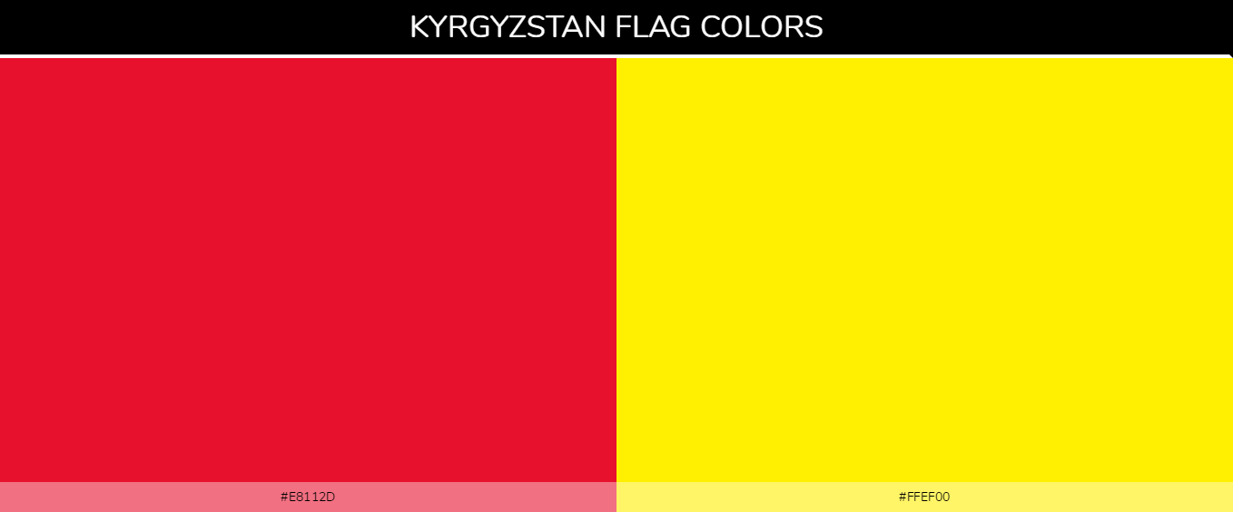 Color Palettes Of All Country Flags 066