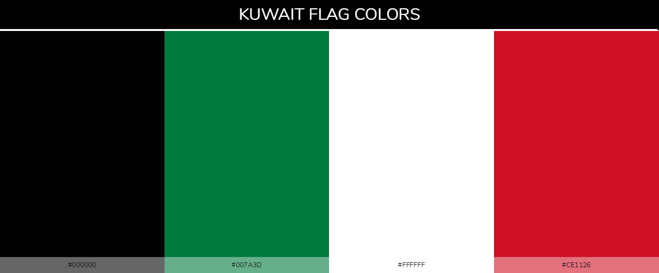 Color Palettes Of All Country Flags 070
