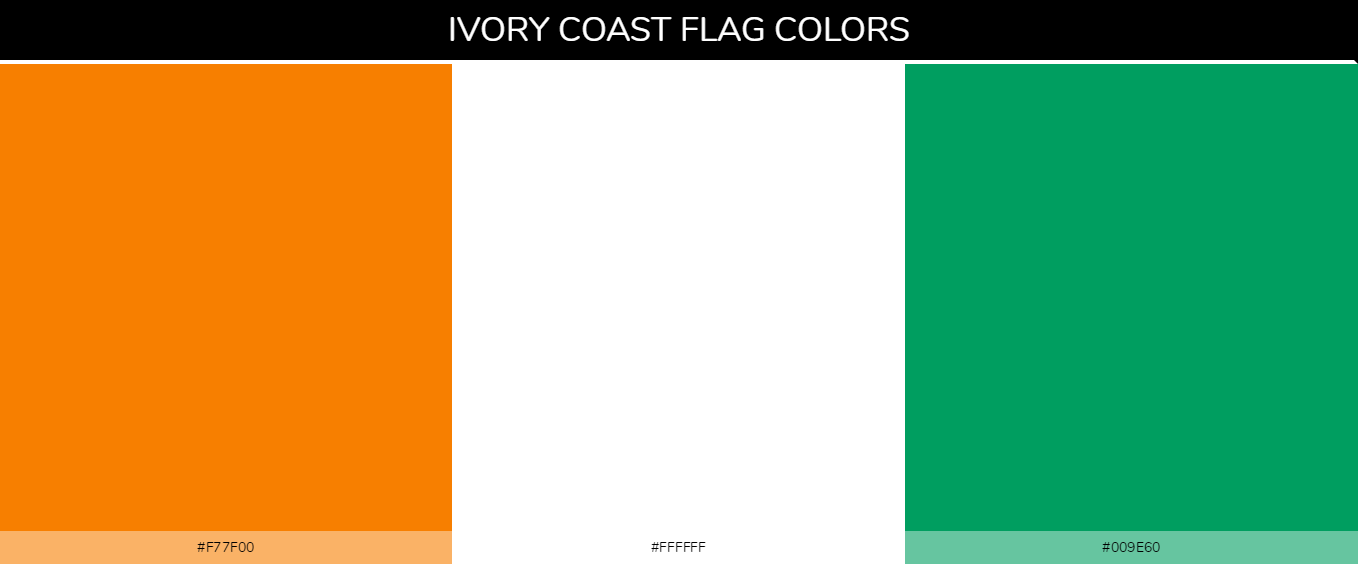 Color Palettes Of All Country Flags 072