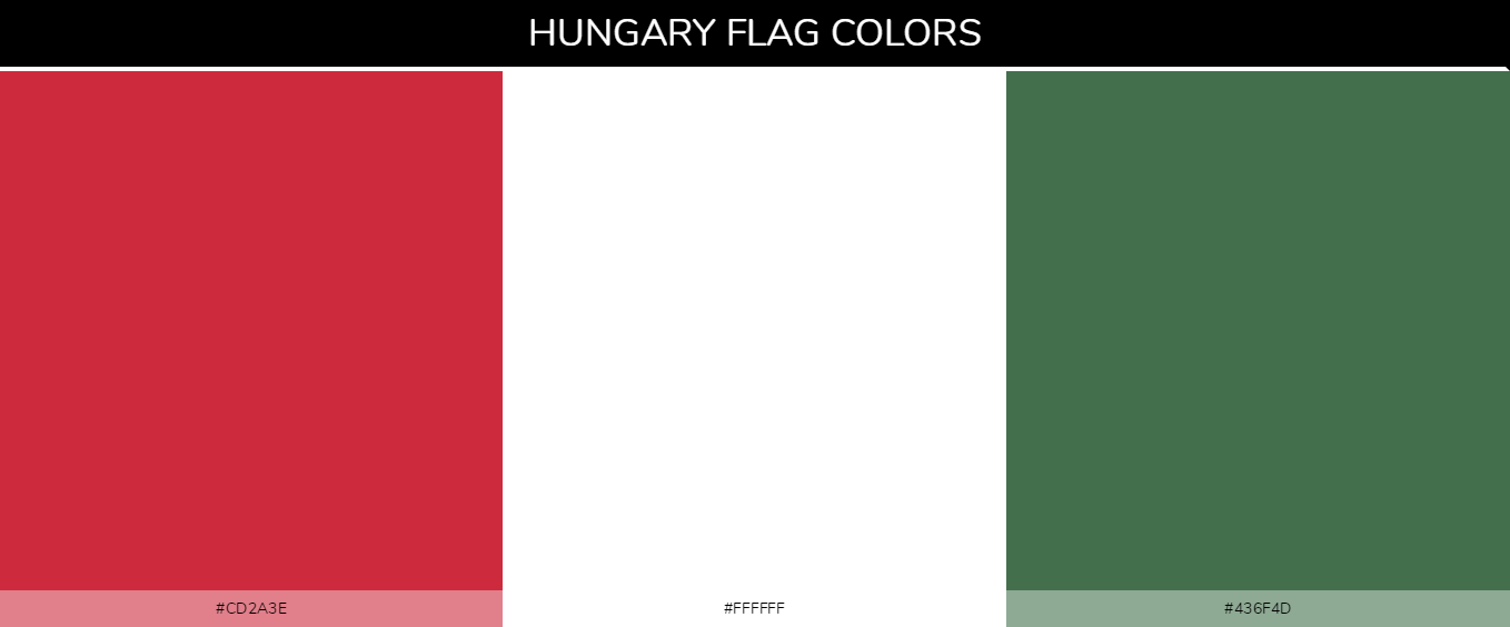 Color Palettes Of All Country Flags 075