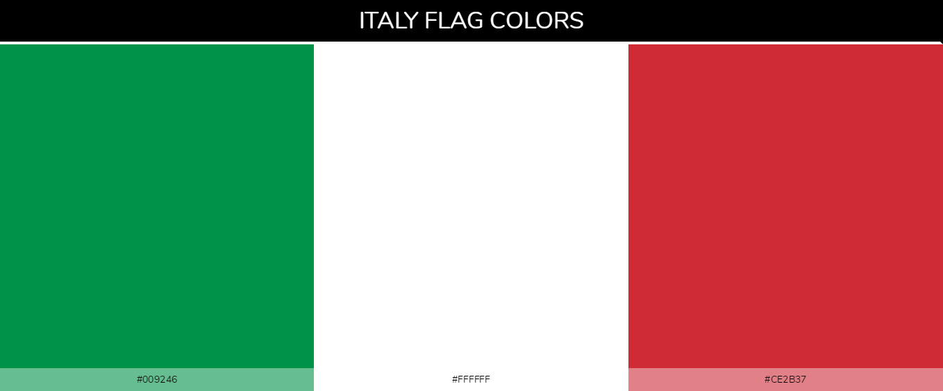 Color Palettes Of All Country Flags 076