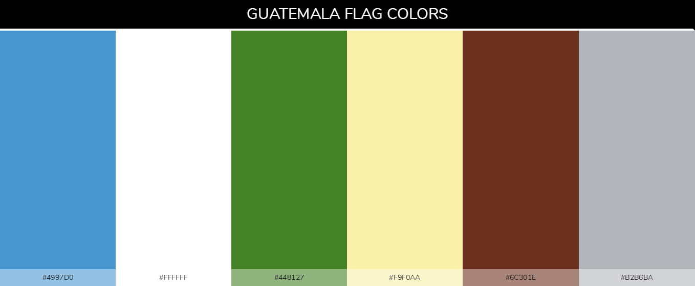 Color Palettes Of All Country Flags 081