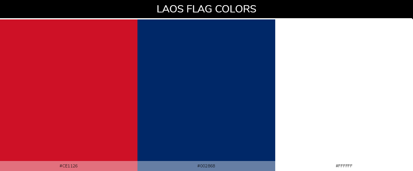 Color Palettes Of All Country Flags 087