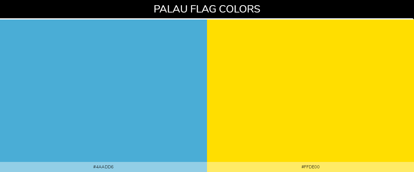 Color Palettes Of All Country Flags 089