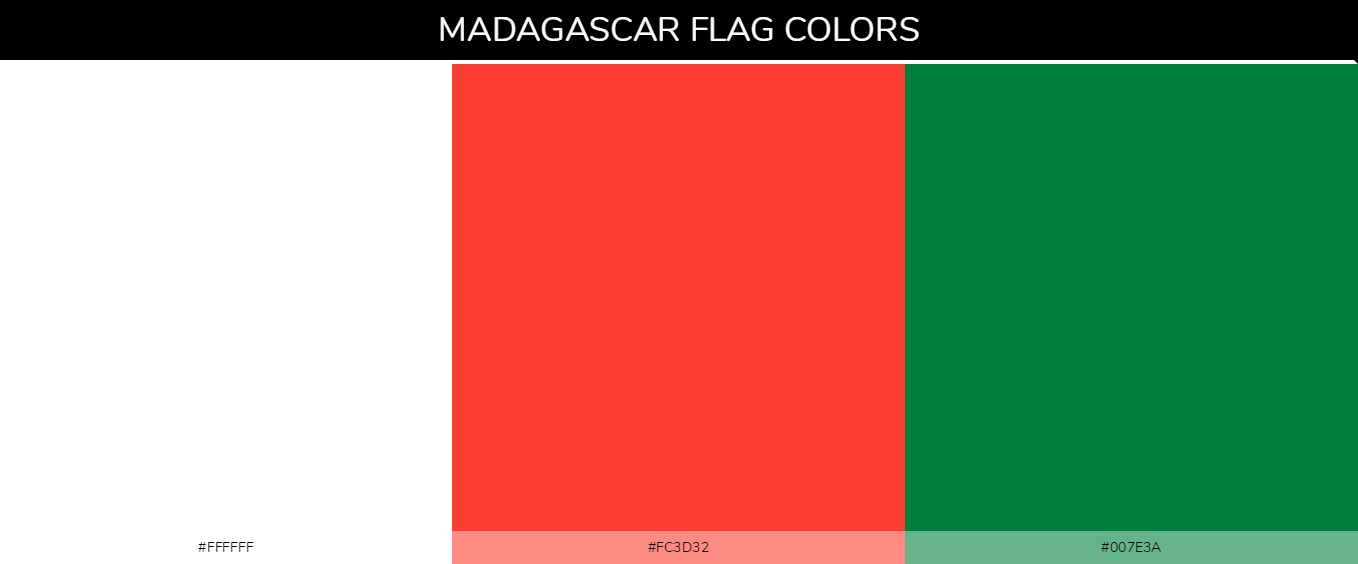 Color Palettes Of All Country Flags 090
