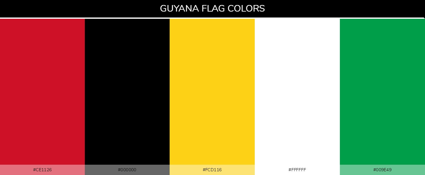 Color Palettes Of All Country Flags 093