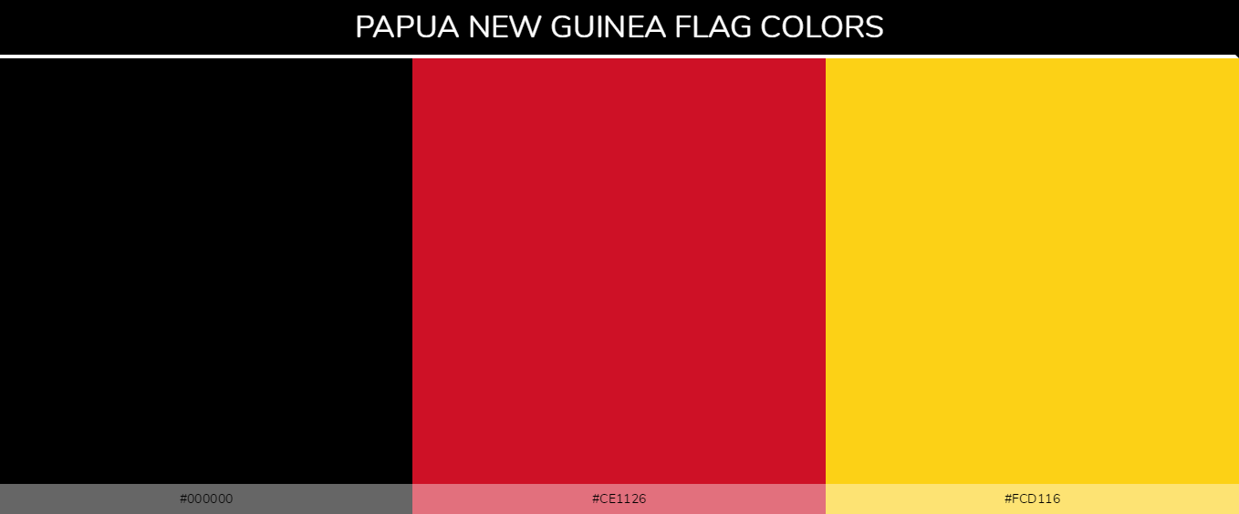 Color Palettes Of All Country Flags 097