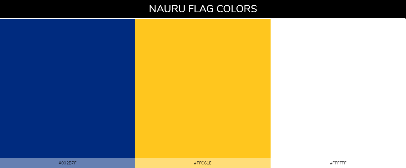 Color Palettes Of All Country Flags 103