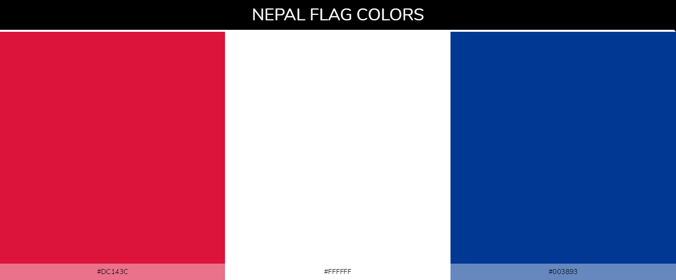 Color Palettes Of All Country Flags 104