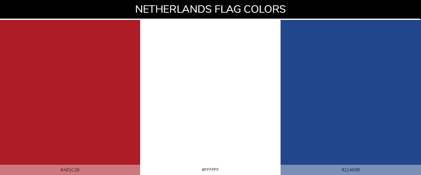 Color Palettes Of All Country Flags 105
