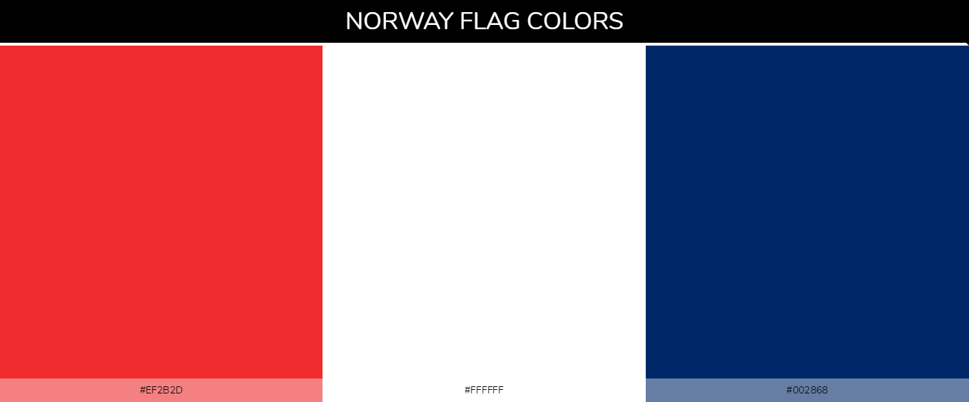 Color Palettes Of All Country Flags 110
