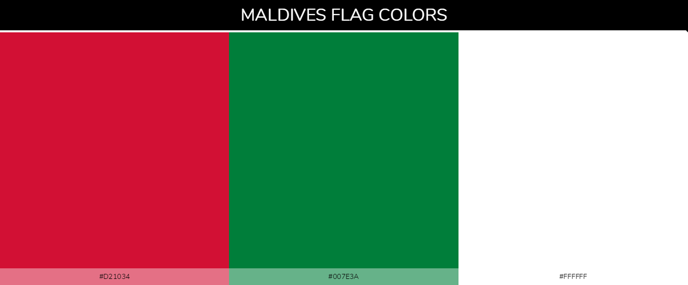 Color Palettes Of All Country Flags 111