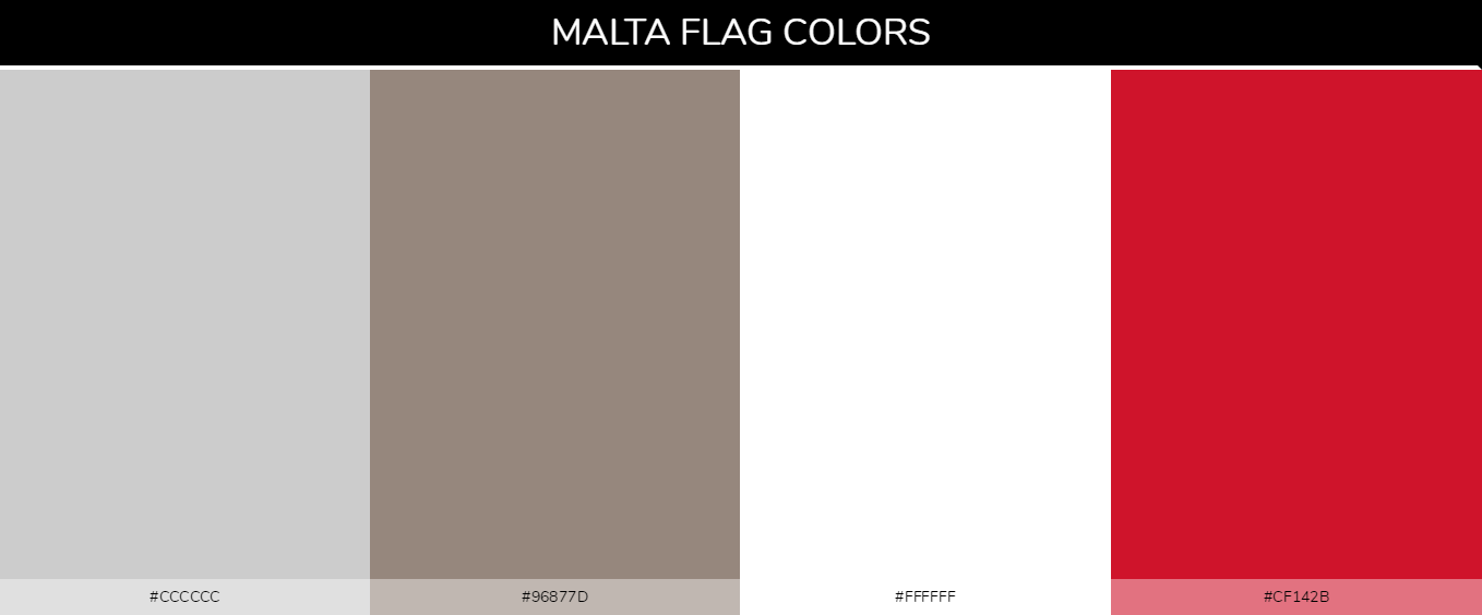 Color Palettes Of All Country Flags 113