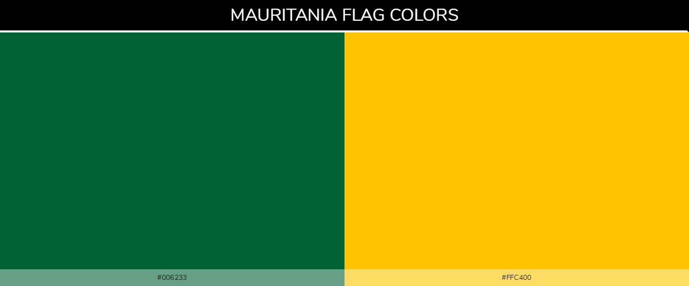 Color Palettes Of All Country Flags 116