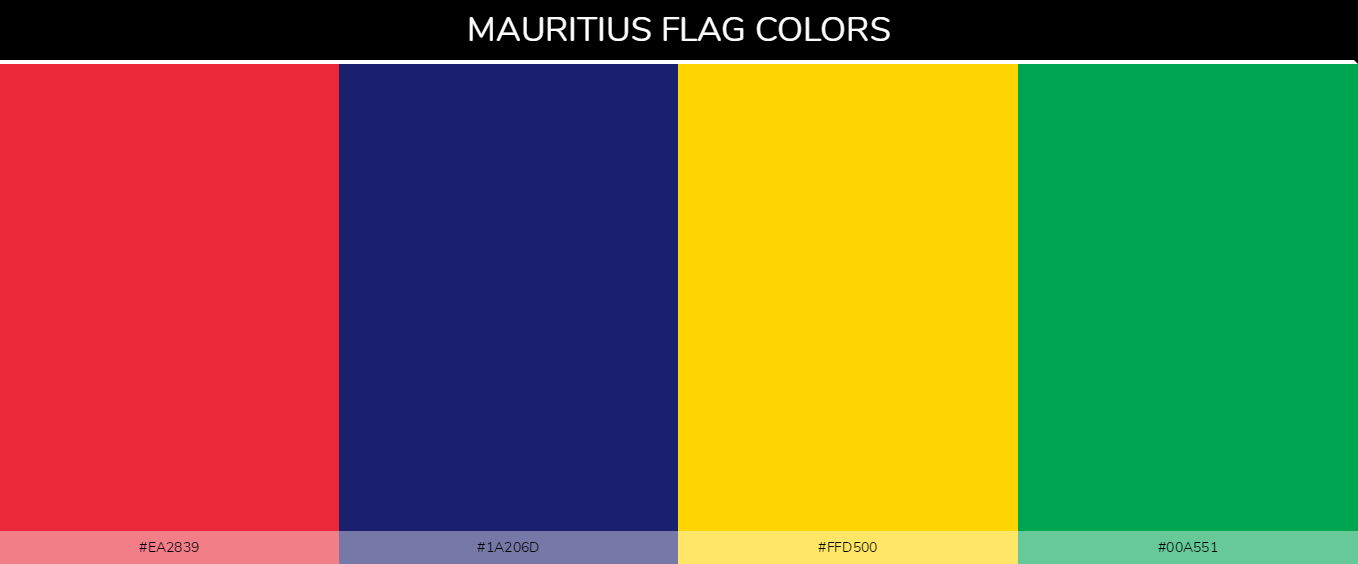 Color Palettes Of All Country Flags 117