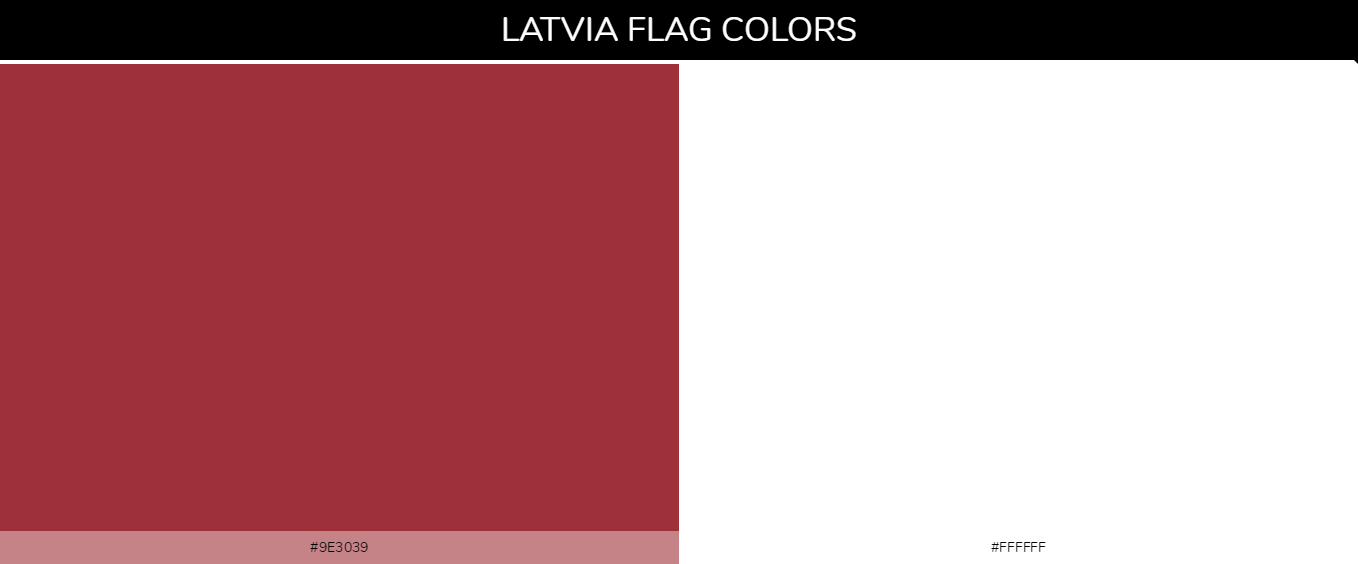 Color Palettes Of All Country Flags 126