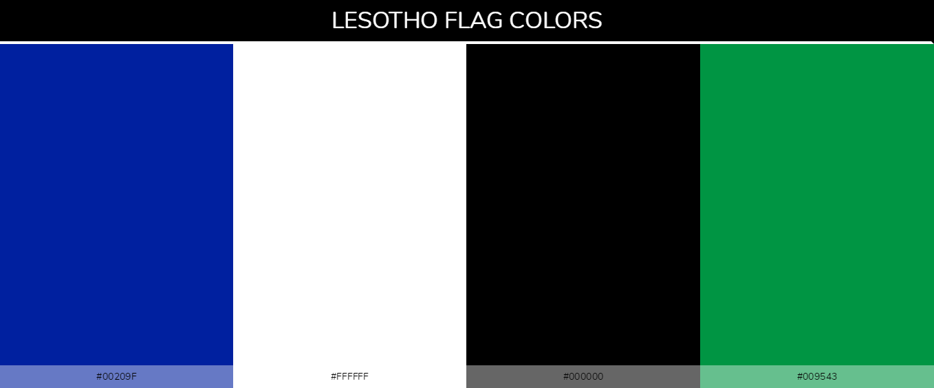 Color Palettes Of All Country Flags 128