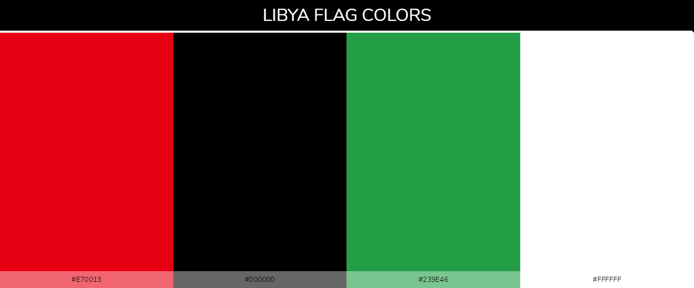 Color Palettes Of All Country Flags 129