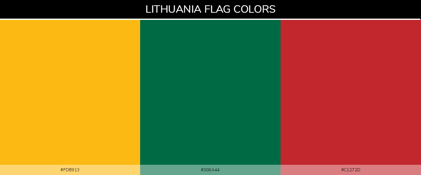 Color Palettes Of All Country Flags 131