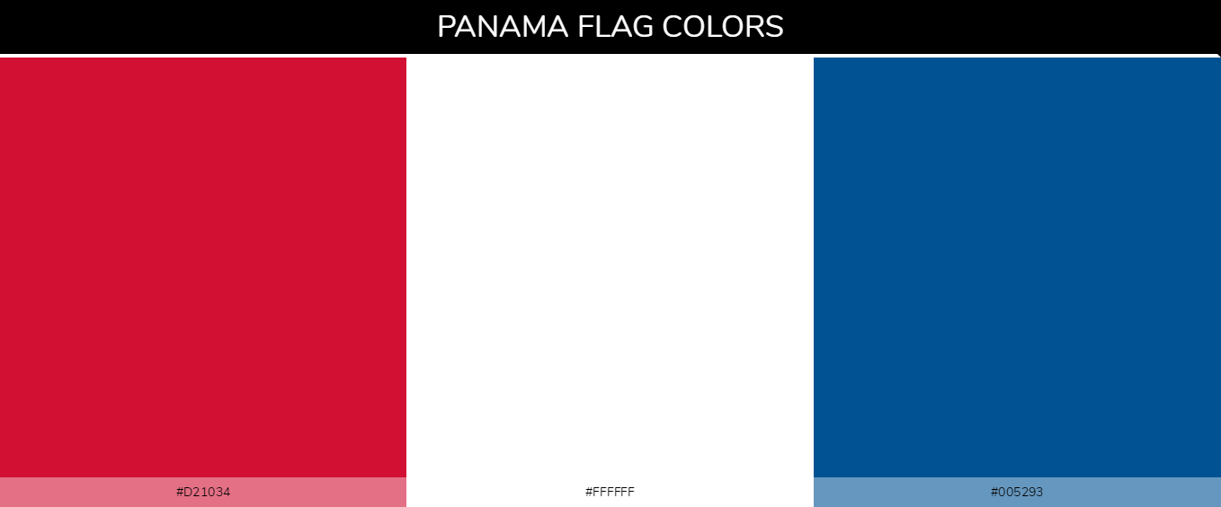 Color Palettes Of All Country Flags 132