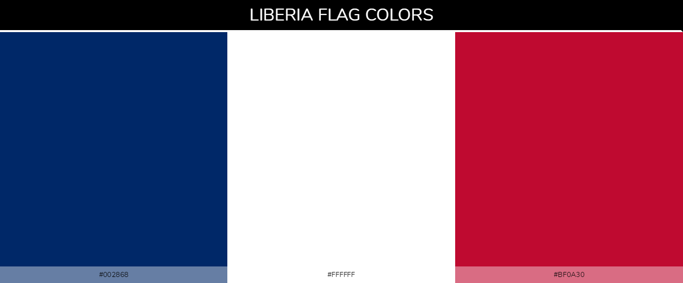 Color Palettes Of All Country Flags 134