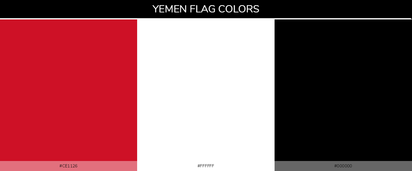 Color Palettes Of All Country Flags 135