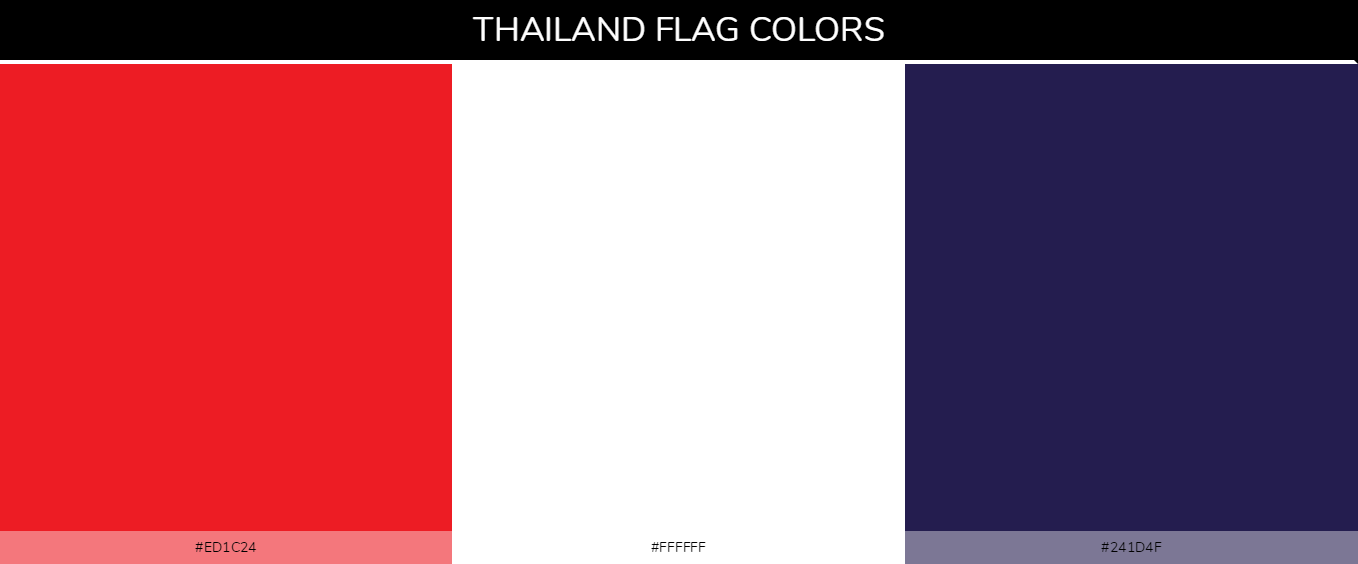 Color Palettes Of All Country Flags 138