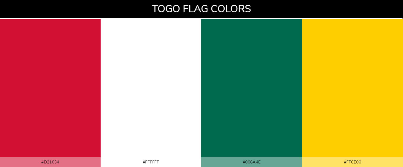 Color Palettes Of All Country Flags 139