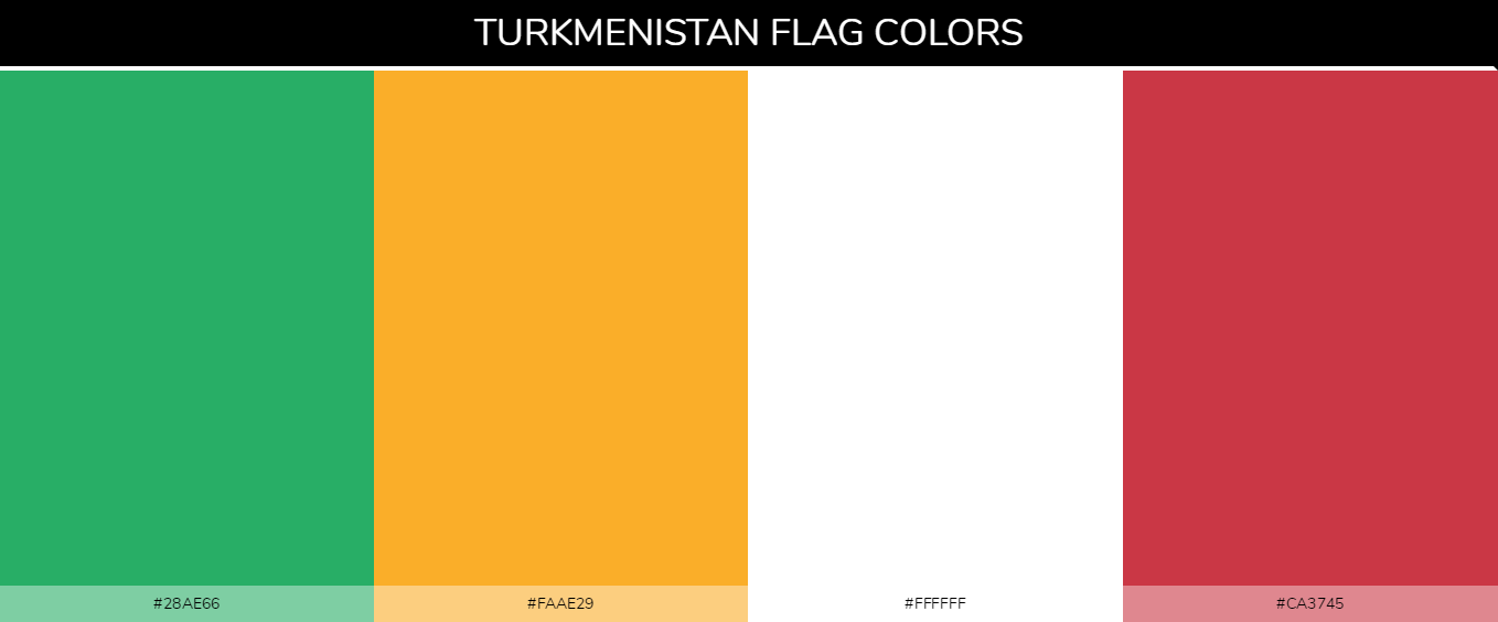 Color Palettes Of All Country Flags 145