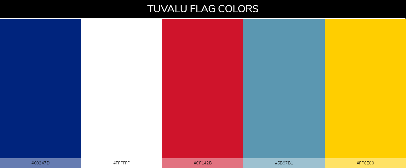 Color Palettes Of All Country Flags 147