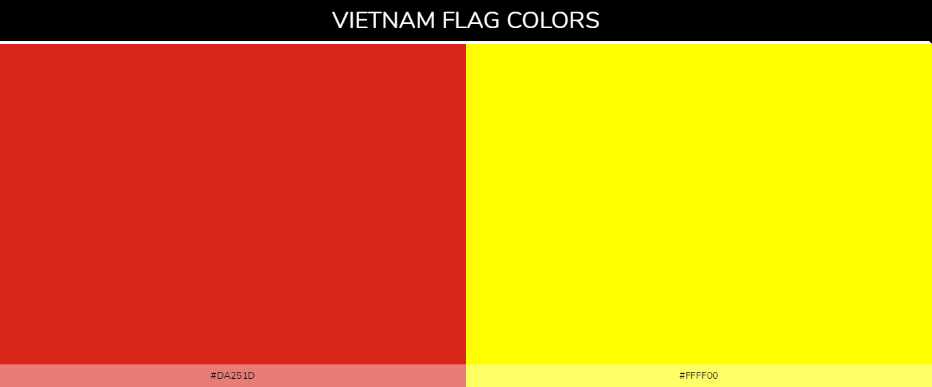 Color Palettes Of All Country Flags 151